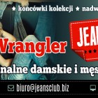 JEANS CLUB Outlet Spodnie Lee Wrangler